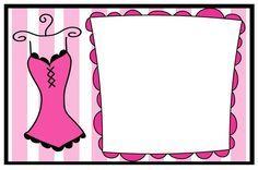 Tarjetas de invitación para despedida de soltera - Imagui