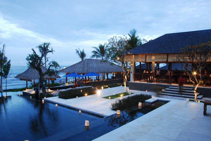 Dining pavilion and the beach bar at Puri Salila. #Anapuri #Bali www.anapurivillas.com