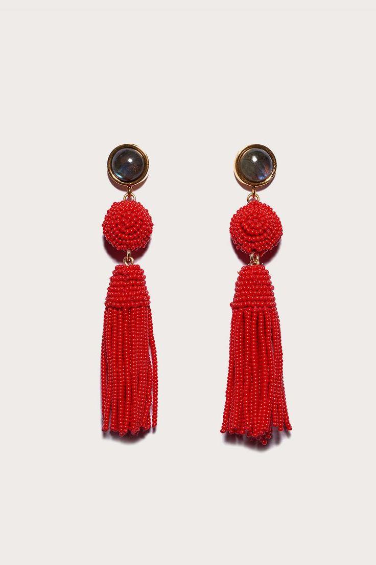 Havana earrings by Lizzie Fortunato