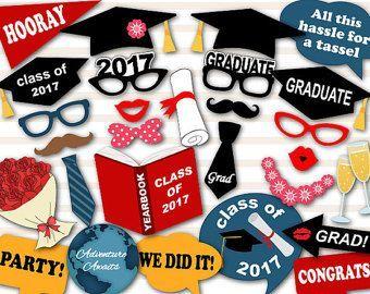 Apoyos de graduación decoraciones de fiesta de graduación