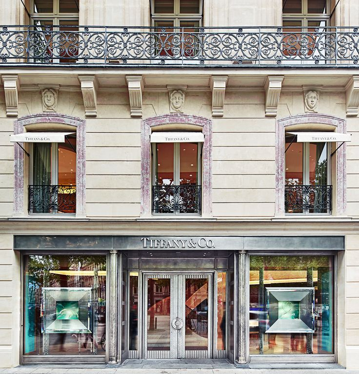 The Latest | Tiffany & Co.  The New Tiffany & Co. Store In Paris, Champs-Elysees.