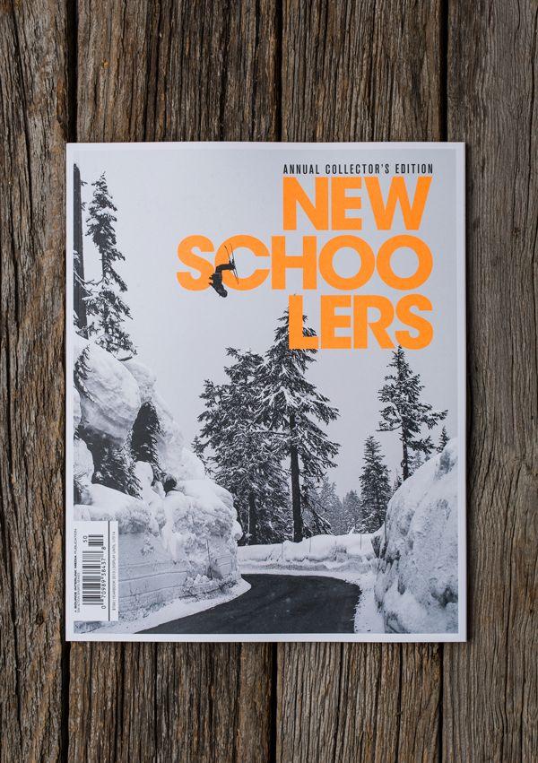 Newschoolers Yearbook by Crésus , via Behance #magazine #snowboards