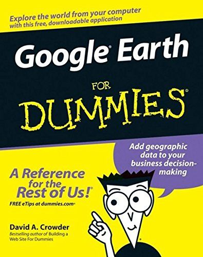 Google Earth For Dummies:   ul liThis interesting guide covers all aspects of Google Earth, the freely downloadable application from Google that allows users to view satellite images from all points of the globe/li liAimed at a diverse audience, including casual users who enjoy air shots of locales as well as geographers, real estate professionals, and GPS developers/li liIncludes valuable tips on various customizations that users can add, advice on setting up scavenger hunts, and guid...