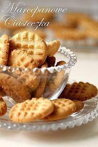 Marcepanowe ciasteczka