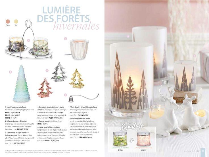 les 19 meilleures images du tableau party lite catalogue fall hiver 2017 sur pinterest hiver. Black Bedroom Furniture Sets. Home Design Ideas