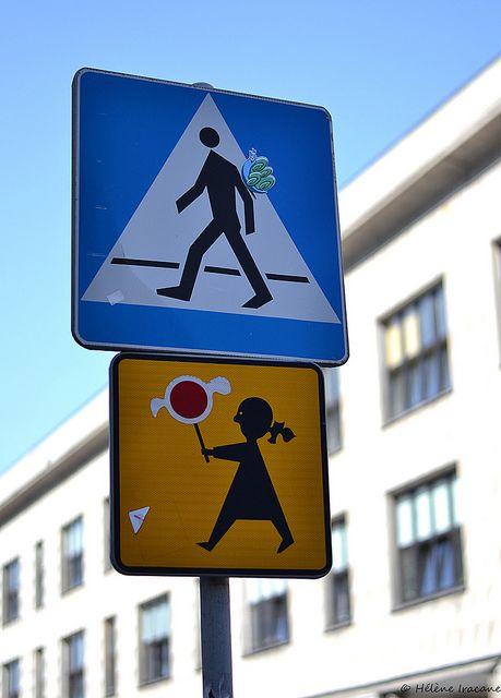 Warsaw pedestrians