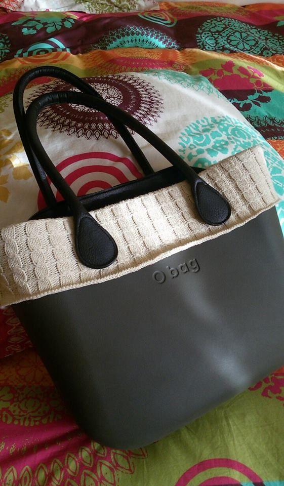 #Obag d'inverno con bordo in lana.