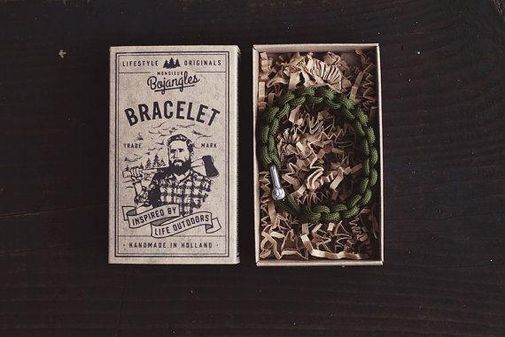 Handmade Paracord Lumberland Bracelet/Armband Mens/Womens