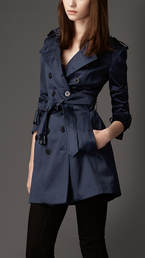burberry trench for spring showers