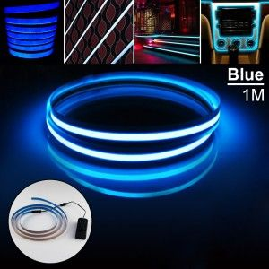 75 best strips and stringschristmas lights outdooroutdoor led zitrades blue glowing strobing electroluminescent robbin el tape belt 3 modes string led string led strings and strips led lights aloadofball Images