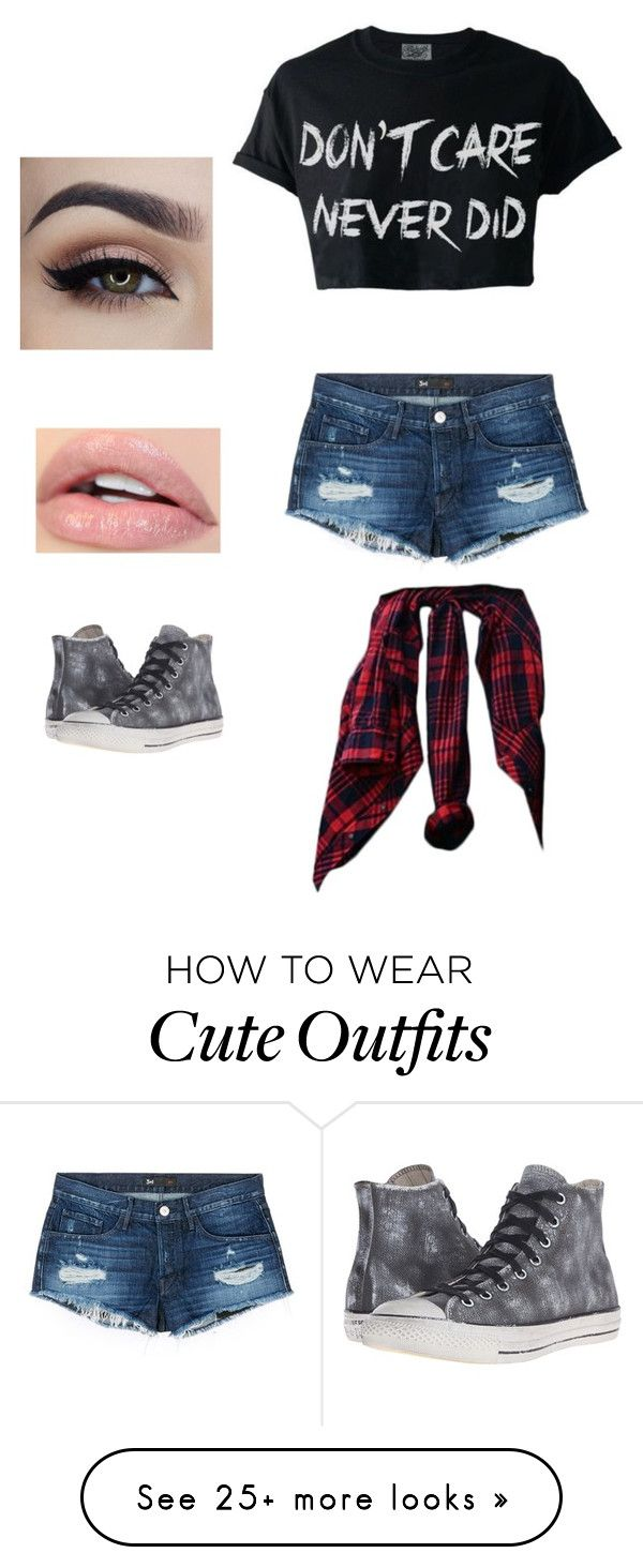 """Casual outfit"" by nara242 on Polyvore featuring 3x1 and Converse"