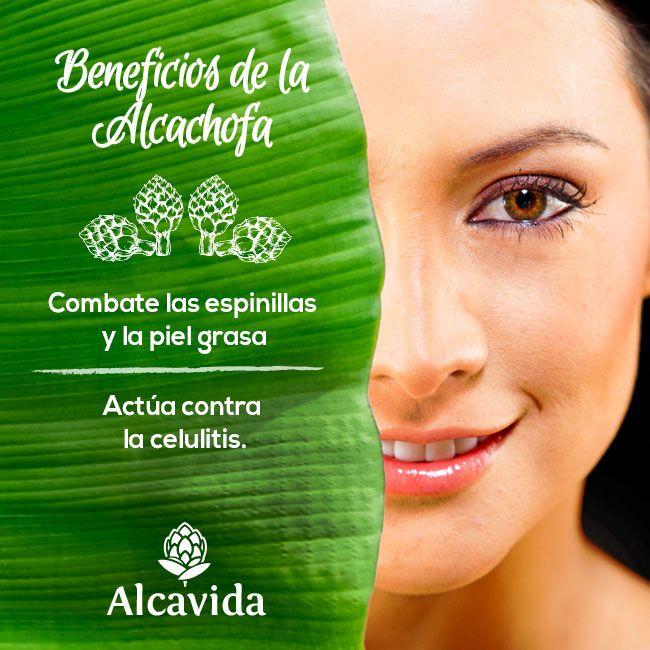 ¡Componente de #Alcachofivida para la belleza !