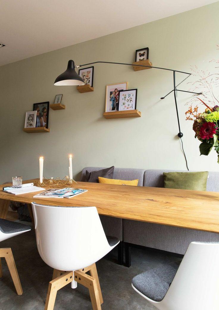 Jaren 30 huis in eindhoven vtwonen interieur pinterest eethoek eettafel en keuken - Tafel boconcept ...
