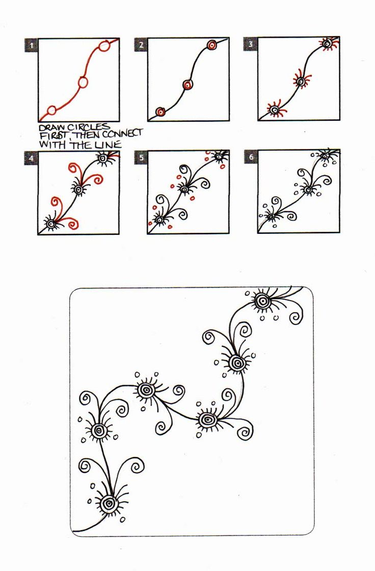 I just recently went through some old tangling stuff and found sketches of patterns I found in some library books several years ago - way be...