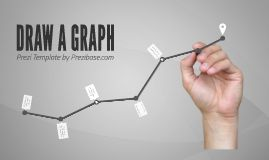 Prezi Template with a graph concept.  Male hand holding a pen and drawing a graph to the screen on grey 3D background  Present your business revenue, prognosis for the future or any other data.  Rearrange the elements and create the layout you need – make the graph grow higher or go lower.  All the visual elements are separated, remove the hand, change the colors or the background image