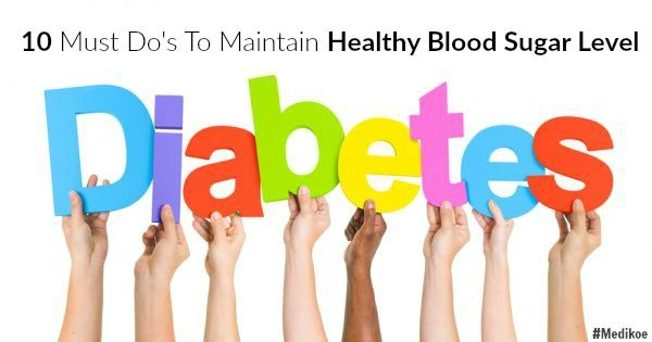 Here are 10 ways to maintain healthy blood sugar levels. #Diabetes #Diet #Prevention #Health #Blood #Sugar