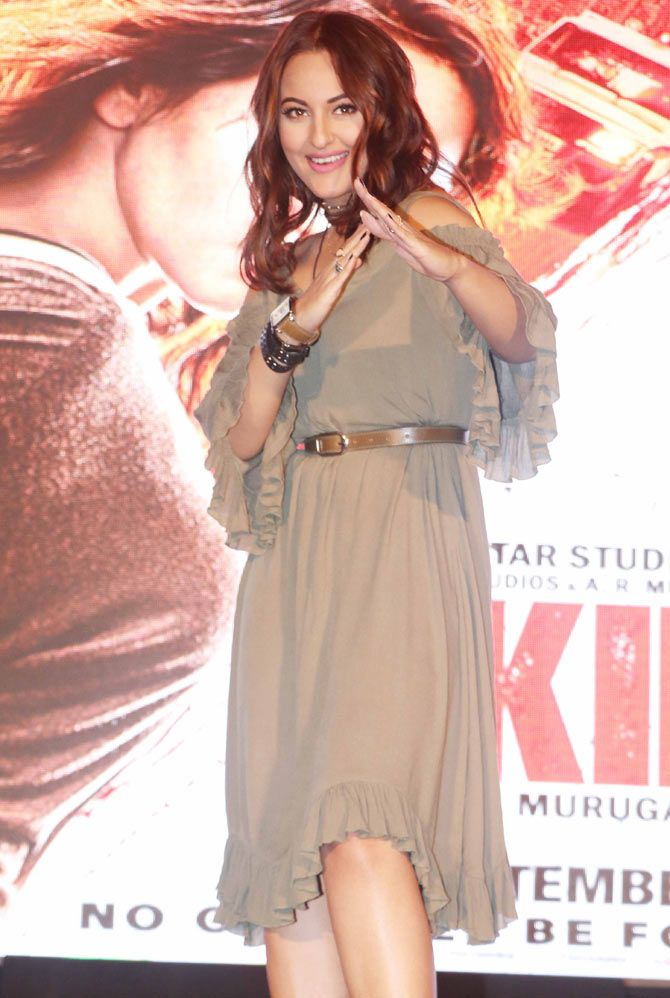 Sonakshi Sinha at the trailer launch of #Akira. #Bollywood #Fashion #Style #Beauty #Hot #Sexy