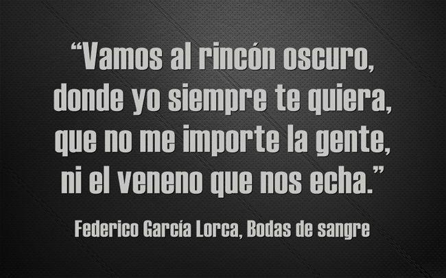 Federico García Lorca Bodas De Sangre Federico Garcia