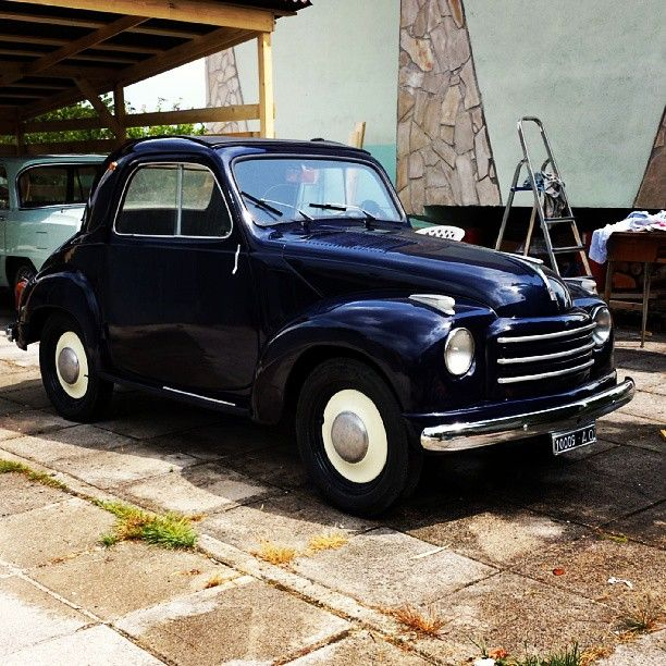 #fiat #500 #500c #topolino #1954 #asi #asi #autoclassica #classiccars #collection #italianstyle #moviecar #om #oldtimer #classicgarage #retrocar #vintagecar #summer #vecchieglorie #Padgram