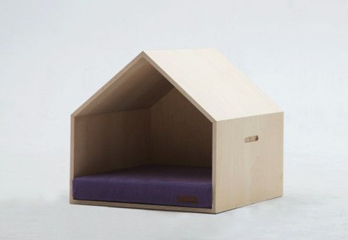 Modern Pet Bed and Plywood Dog House from mPup