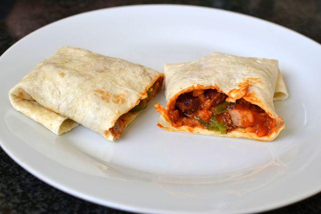 Palavras que enchem a barriga: Burrito de lombinho de porco