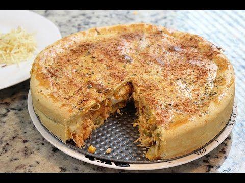 Como fazer torta de frango com requeijão (Com o Brogui) - Segredinhos #51 - YouTube
