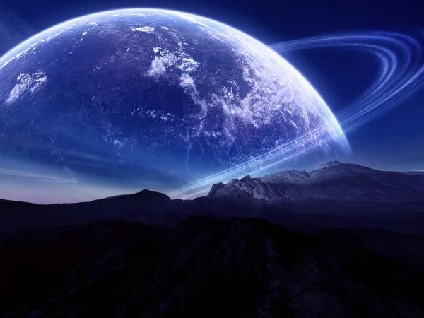 Space Planet wallpaper - 50+ Spectacular Space Wallpapers  <3 <3