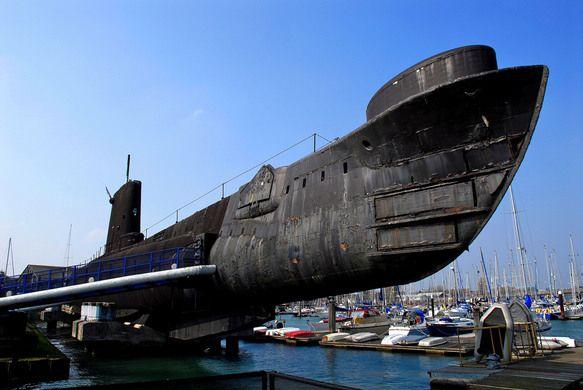 HMS Alliance Submarine Museum | Atlas Obscura