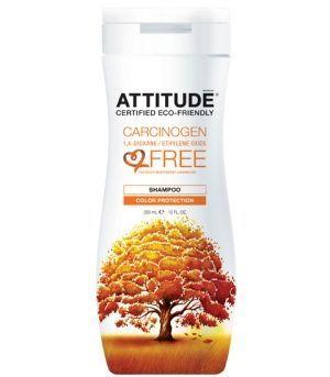 Sampon bio, protecție culoare păr vopsit, 355 ml, Attitude - Sabedoria