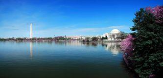 Panorama de Washington DC Photographie stock