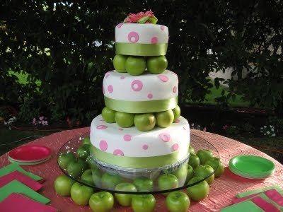 Яблочная свадьба: декор и аксессуары