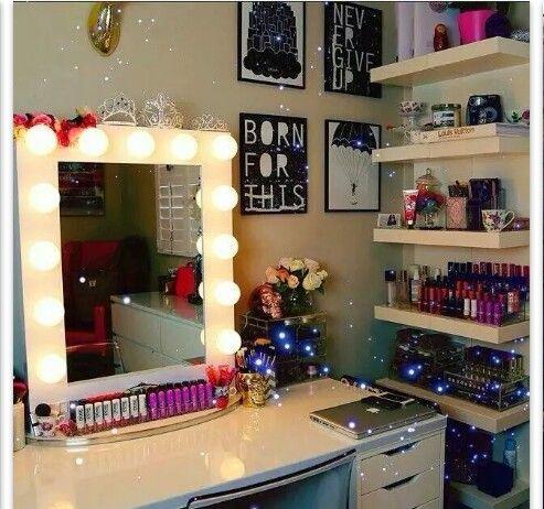 Makeup stationen