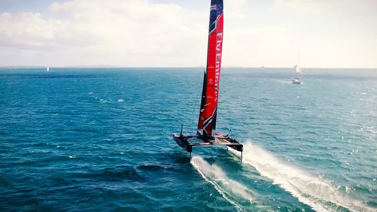 Discover What It Takes To Win An America's Cup - #America'sCup, #EmiratesTeamNewZealand