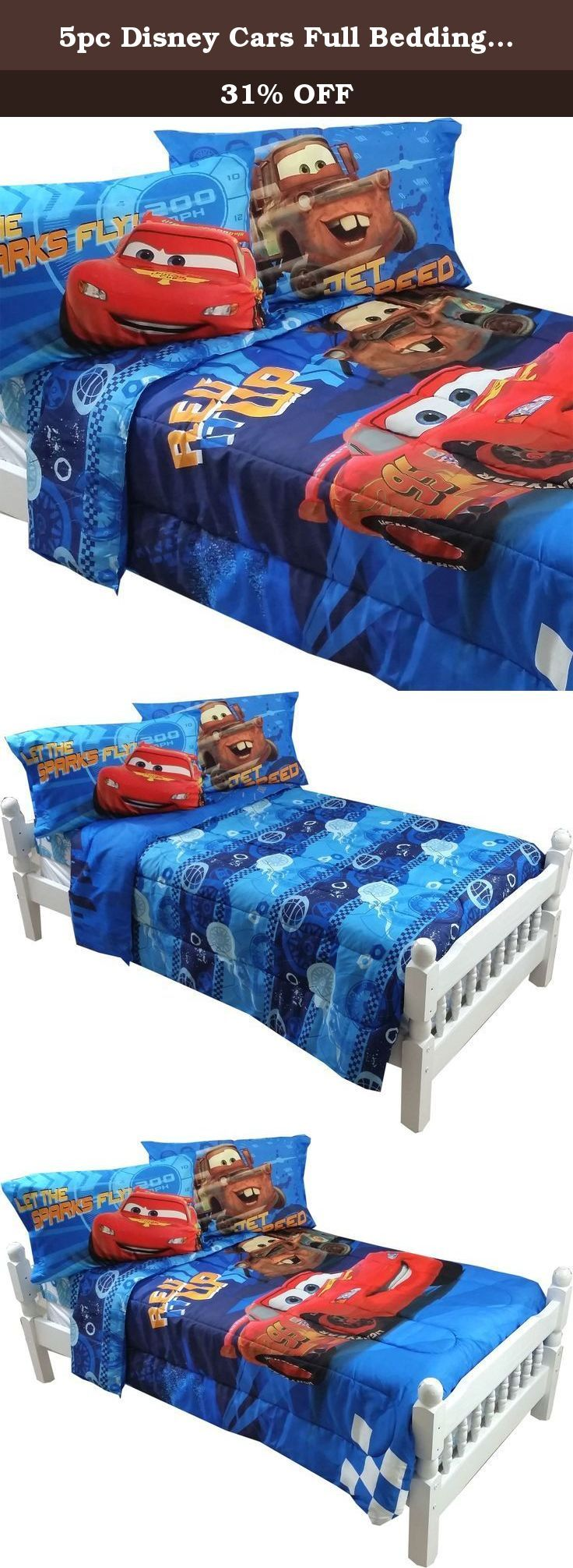 disney cars full bedding set lightning mcqueen city limits comforter