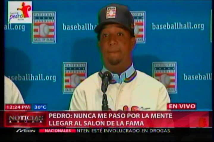 Declaraciones De Pedro Martínez En Su Rueda De Prensa #Video