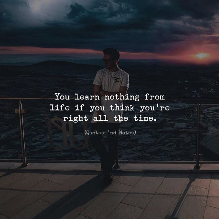 You learn nothing from life.. via (https://ift.tt/2pDo3sd)