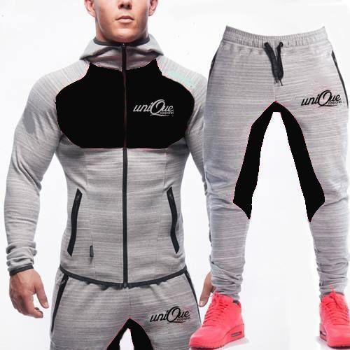 Source New Mens Tracksuit Set Fleece Hoodie Top Bottoms Jogging Joggers Gym CONTRAST on m.alibaba.com