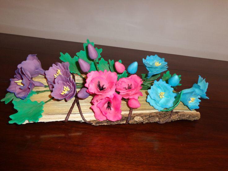 composizione fiori di fantasia