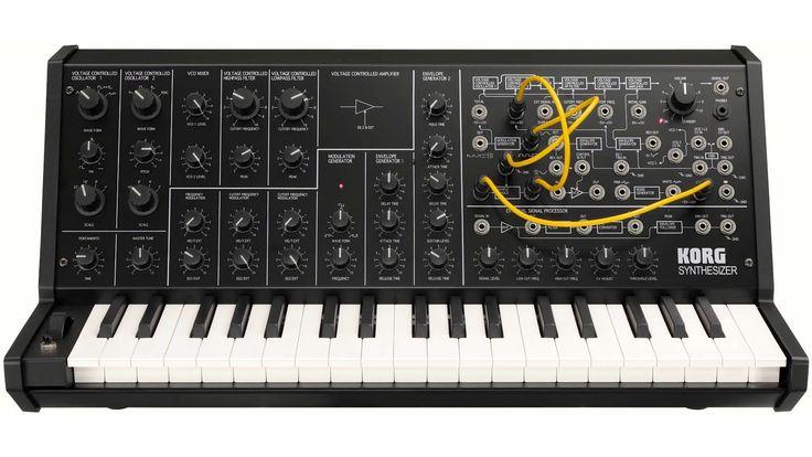 Korg MS-20 Mini synthesiser