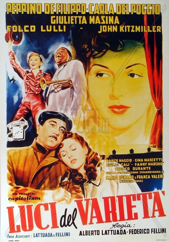 LUCI DEL VARIETA (1950) Criterion + _________________________ https://en.wikipedia.org/wiki/Variety_Lights https://www.criterion.com/current/posts/84-variety-lights