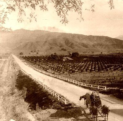 LA is more than just the westside.  The San Gabriel Valley in 1900