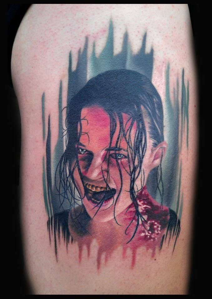 Rain from resident evil tattoo | Our Business Is Life ...