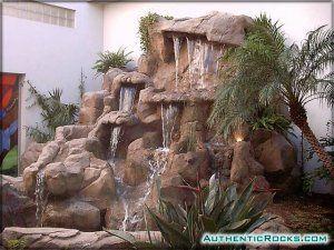 Cascadas artificiales rocas cuevas toboganes for Construccion de cascadas artificiales