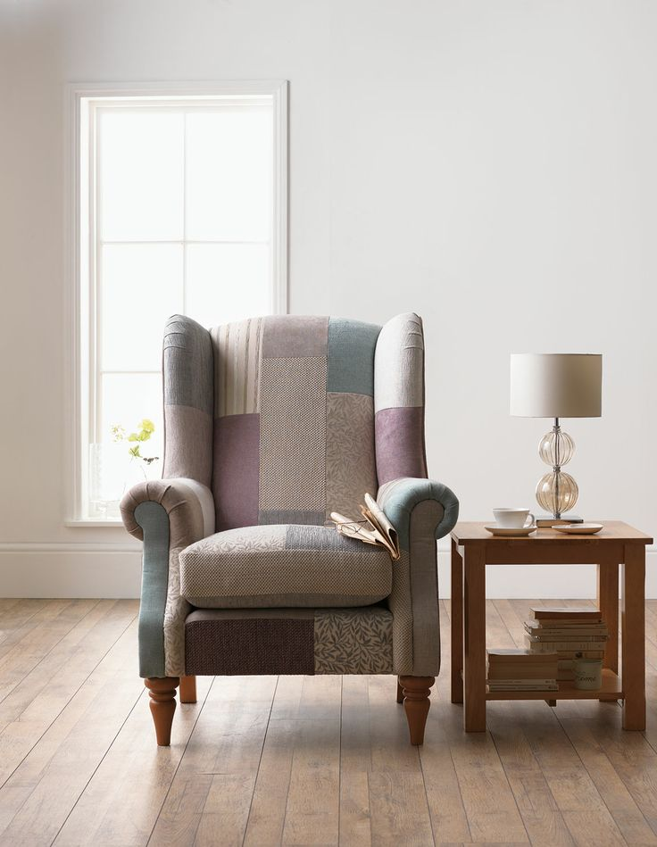 The pretty pastel Longbourn chair. A classic design with a feminine edge.