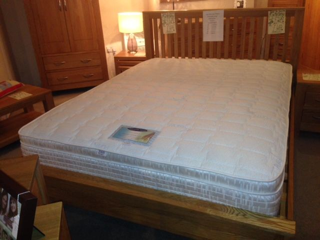 6FT Calypso 2000 Pocket with Memory Foam Mattress