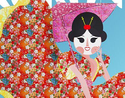 "Check out new work on my @Behance portfolio: ""KOKONE / Tokio"" http://be.net/gallery/31304007/KOKONE-Tokio"