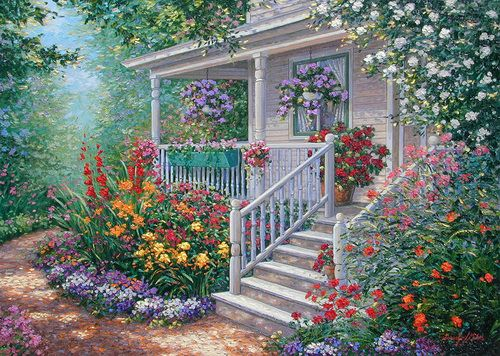 Mary-Anne's Cottage ~ Schaefer/Miles Art