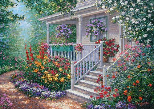 Mary-Anne's Cottage ~ Schaefer/Miles Art