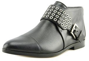 MICHAEL Michael Kors Brody Flat Bootie Round Toe Leather Bootie.