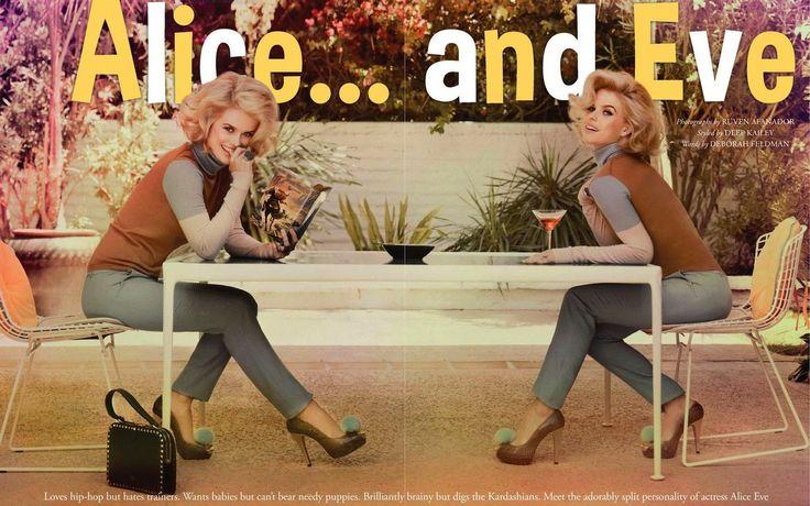 Alice Eve in Tattler magazine. Gorgeous. #Alice_Eve
